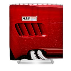 427 Ford Cobra Shower Curtain by Gordon Dean II