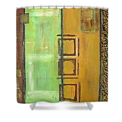 4panel Shower Curtain by Kathy Sheeran