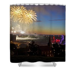 4th Of July Shower Curtain by Conor McLaughlin