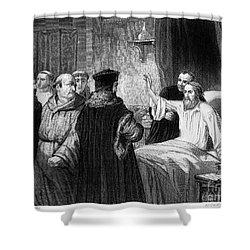 John Wycliffe (1320?-1384) Shower Curtain by Granger