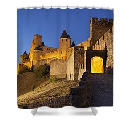 Medieval Carcassonne Shower Curtain by Brian Jannsen