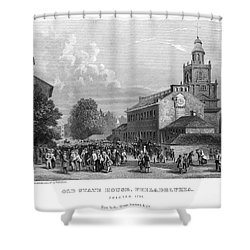 Philadelphia State House Shower Curtain by Granger
