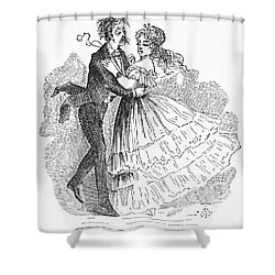Samuel Langhorne Clemens Shower Curtain by Granger