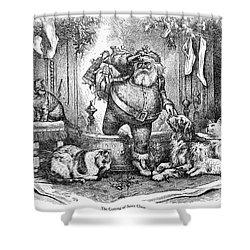 Thomas Nast: Santa Claus Shower Curtain by Granger