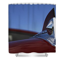 '50 Ford Shower Curtain by Dennis Hedberg