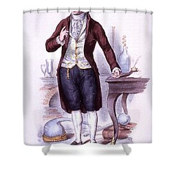 Antoine-laurent Lavoisier, French Shower Curtain by Science Source