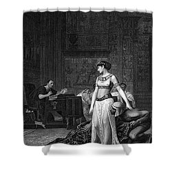 Cleopatra Vii (69-30 B.c.) Shower Curtain by Granger