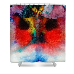 Colorful Water Color Painting Shower Curtain by Sumit Mehndiratta