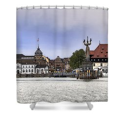 Constance Shower Curtain by Joana Kruse