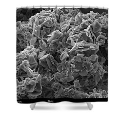 Crack Cocaine, Sem Shower Curtain by Ted Kinsman