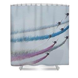 None Shower Curtain by Ian Cumming