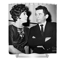 Norman Mailer (1923-2007) Shower Curtain
