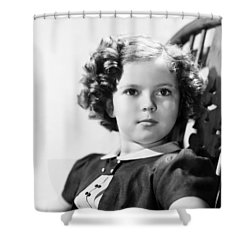 Shirley Temple (1928-  ) Shower Curtain by Granger