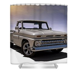 '66 Chevy Pickup Shower Curtain