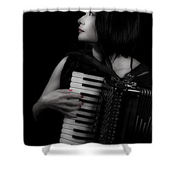 Accordion Shower Curtain Joana Kruse
