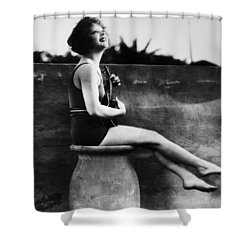 Clara Bow (1905-1965) Shower Curtain by Granger