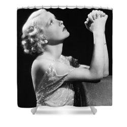 Damsel In Distress Shower Curtain by Granger