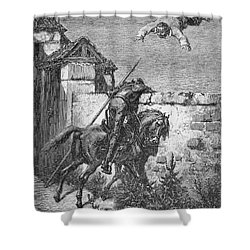 Don Quixote Shower Curtain by Granger