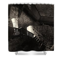 Raasepori Castle Shower Curtain by Jouko Lehto