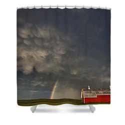 Abandoned Farm Shower Curtain by Mark Duffy
