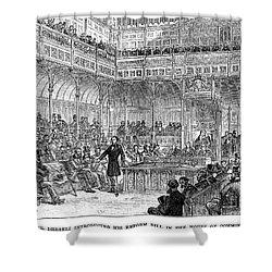 Benjamin Disraeli (1804-1881) Shower Curtain by Granger