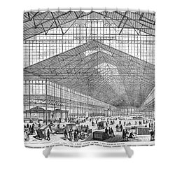 Centennial Fair, 1876 Shower Curtain by Granger