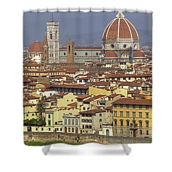Florence Shower Curtain by Joana Kruse