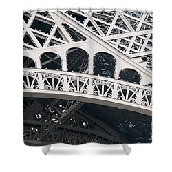 Paris Shower Curtain by Carol Ailles
