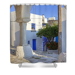 Paros - Cyclades - Greece Shower Curtain by Joana Kruse