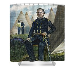 Zachary Taylor (1784-1850) Shower Curtain by Granger