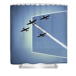 8027 Letting Off Steam Shower Curtain by EricaMaxine  Price