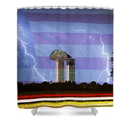 9-11 We Will Never Forget 2011 Shower Curtain by James BO  Insogna