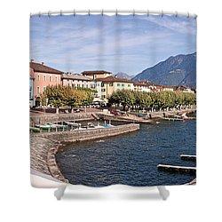 Ascona - Ticino Shower Curtain by Joana Kruse