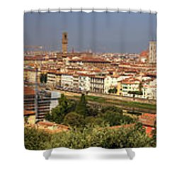 Florence Shower Curtain by Joana Kruse