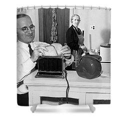 Harry S. Truman (1884-1972) Shower Curtain by Granger