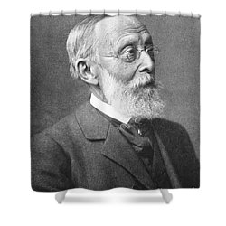 Rudolph Virchow, German Polymath Shower Curtain by Science Source