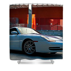 911 Porsche 996 2 Shower Curtain by Stuart Row