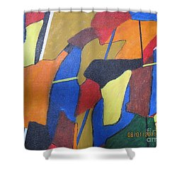 A City Shower Curtain by Nedunseralathan R