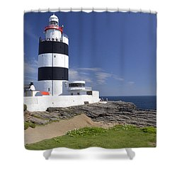 A Day At The Hook  Shower Curtain by Martina Fagan