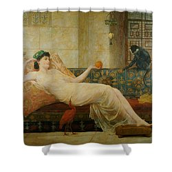 A Dream Of Paradise Shower Curtain by Frederick Goodall