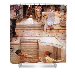 A Favorite Custom Shower Curtain by Sumit Mehndiratta