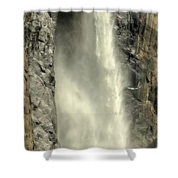 A Force Of Nature Shower Curtain by Lynn Bauer
