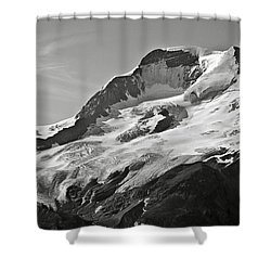 A Glacier In Jasper National Park Shower Curtain