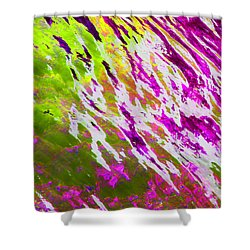 A Glow From Within - Abstract Shower Curtain