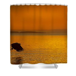 A Late Supper Shower Curtain