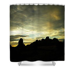 A Magic Moment Shower Curtain by Jeff Swan