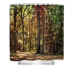 A New Season Shower Curtain by Jai Johnson
