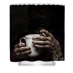 A Nice Cup Of Tea Shower Curtain by Avalon Fine Art Photography