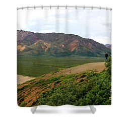 Shower Curtain featuring the photograph A Photographer's Dream by Kathy  White