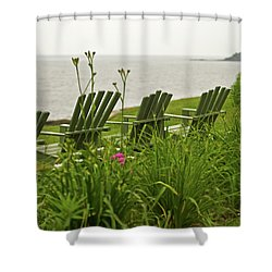 A Place To Relax Shower Curtain by Paul Mangold